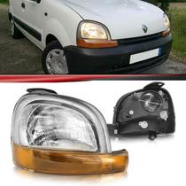 Farol Renault Kangoo 97 98 99 00 01 02 03 04 05 06 07 08