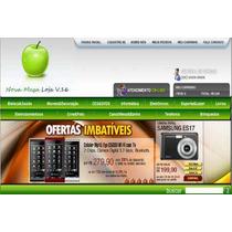 Mega Loja Virtual E-commerce 2010 V.16/ Em Asp E Php 18 Mod