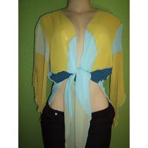 Camisa Feminina Crepe De Seda G