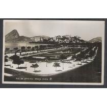 Cartão Postal Antigo 1936 Rio De Janeiro Praça Paris