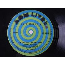 Compacto Luiz Melodia: Juventude Transviada 1976