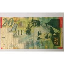 Cedula De 20 New Sheqalim Bank Of Israel
