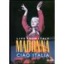 Dvd Madonna * Live From Italy * Ciao Italia