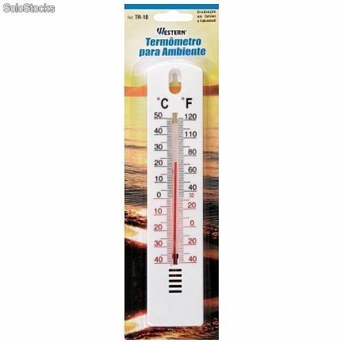 Termometro de merc rio para ambiente marca western - Termometro de pared ...