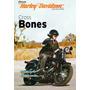 Harley Davidson Cross Bones Revista Pôster Gigante Nova