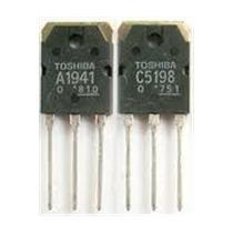 10x Par De Transistor 2sc5198 / 2sa1941 * Mica Gratis !!