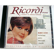 Cd - Rita Pavoni - Ricordi