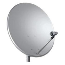 Antena Mini Parabólica Banda Ku 60 Cm + Lnb Duplo Sharp Hdtv