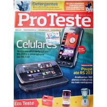 Revista Pro Teste 91 - Maio 2010- Celulares - Cdlandia
