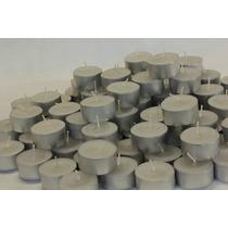 Vela Rechaud Com Suporte Alumínio Pacote Com 40 Unidades
