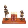 Livros Os Menores Livros Do Mundo - Dom Quixote+ Estatuetas