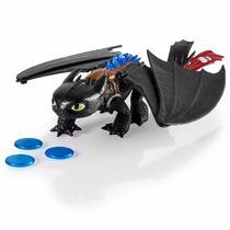 Como Treinar Seu Dragão Banguela De Luxo Toothless C/ Rugido