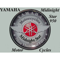 Exclusivo ! Adesivo Yamaha Midnight Star 950 Resinado Oferta