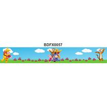 Adesivo Bdfx0057 Ursinho Pooh Border Faixa Decorativa