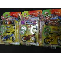 03 Kits De Mini Bicicleta E Skate Dedo + Acessorios