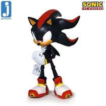 Shadow Sonic - Super Poser Jazwares - Aprox 16 Cm
