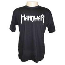 Camisetas Divertidas Panico Manowar Bandas Rock Metal Musica