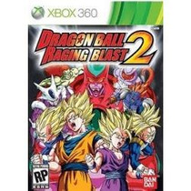 Jogo Lacrado Original Dragon Ball Raging Blast 2 Do Xbox 360