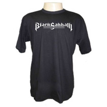 Camisetas Divertidas Black Sabbath 2 Bandas Rock Ozzy