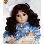 Elisabeth C/ Bebê Boneca Porcelana Francesa Bru Antiga Repro