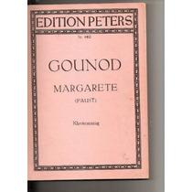 Livro Margarete De Gounod (faust) Nr. 4402