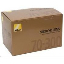 Lente Nikon 70-300mm Af Zoom F/4-5.6g Garantia 1 Ano E Nf