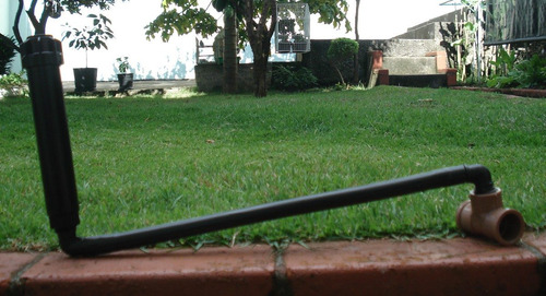 Conjunto P/ Irrigação: Aspersor + Mangueira + Tê 25mm