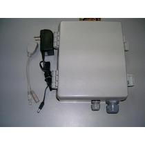 Kit Integrada Placa 1000mw B,g,n , P.o.e E Fonte Ate 8 Km.