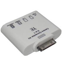 Adaptador 5x1 Ipad Micro Sd Camera Teclado Iphone Usb Ipod
