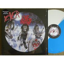Slayer Live Undead Lp 180 Gramas Limitado Vinil Colorido