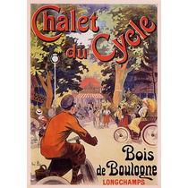 Praça Bicicleta Pessoas Mulheres Crianças Poster Repro