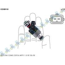 Bico Injetor De Combustivel Corsa Mpfi 1.0 8v 96/98 - Delphi