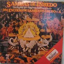 Sambas De Enredo Escolas Rj Grupo 1-a - 1989 Lp Duplo