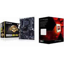Kit Gigabyte Ga-990xa-ud3 R5 + Processador Fx-8350 4.2 Ghz