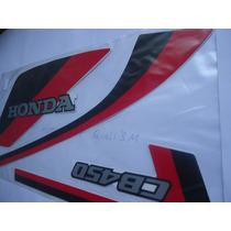 Adesivo Cb 450 86 Branca, Completo, Quali 3m