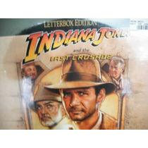 Laserdisc Ld Indiana Jones A Grande Cruzada 2 Discos