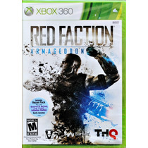 Red Faction Armageddon L A C R A D O Original 360 Americano