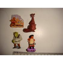 = Shrek = Kinder Ovo Lote 2 Gato De Botas Dragão Antigos
