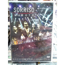 Sorriso Maroto Ao Vivo Recife Dvd Original Novo Lacra