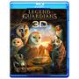 Blu-ray 3d A Lenda Dos Guardiõe 3d [eua] Novo Lacrado