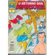 Épicos Marvel Nº 6 - O Retorno Dos Defensores - 1995