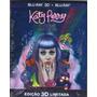 Blu-ray 3d +blu-ray - Katy Perry - O Filme Part Of Me - Novo