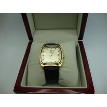 Relógio Omega Megasonic De Ouro 18k Jr Joalheiro.