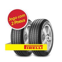 Kit 2 Pneu Aro 16 Pirelli 205/55r16 Cinturato P7 94w