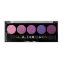 Paleta Sombra Importada La Colors 5 Cores Metálicas Lolipop