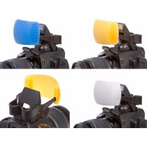 Difusor P/ Flash Pop-up Pop Up Nikon Canon Fuji Etc