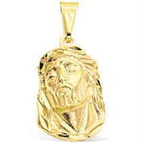 Pingente Jesus Cristo Folheado À Ouro 18k