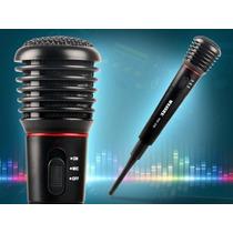 Microfone Sem Fio Wirelles Profissional Caixa Som Musica Mp3