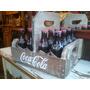 Coca-cola Caixa Engradado Madeira Coca Cola Vintage