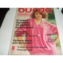 Revista - Burda Moden Nº 10 - Outubro/1978 - Com Moldes